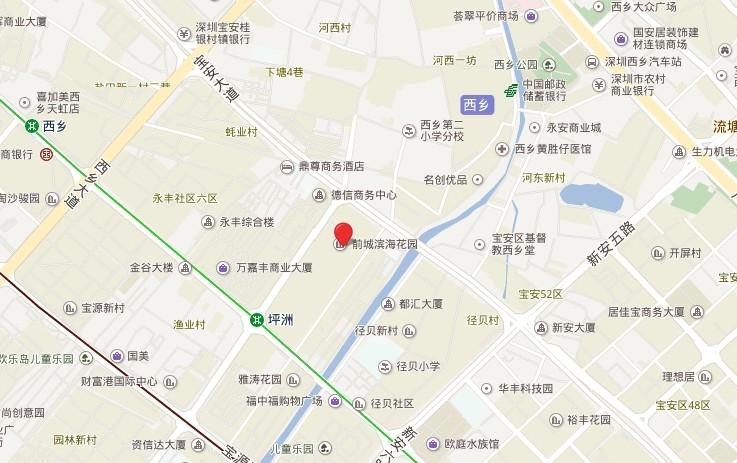 宏发前城位置图