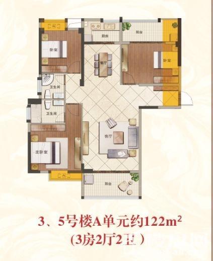 3、5号楼A单元