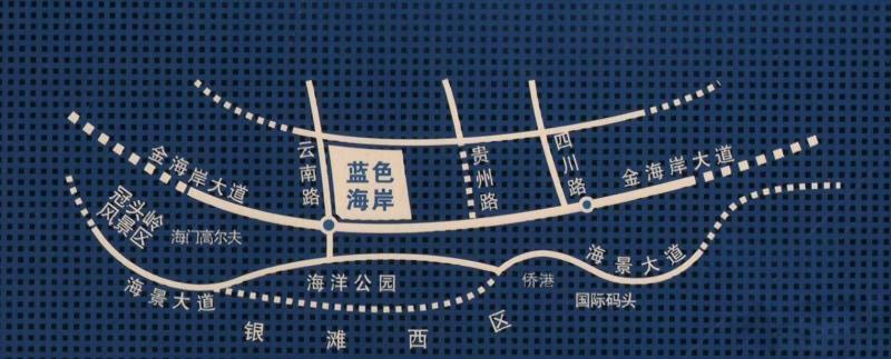 蓝色海岸国际家园第四期位置图