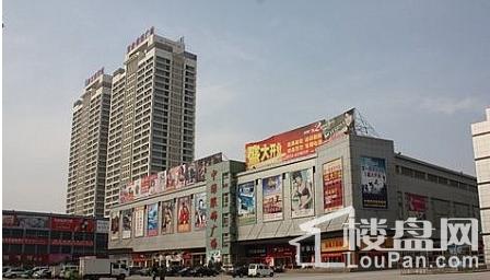 中绿广场实景图