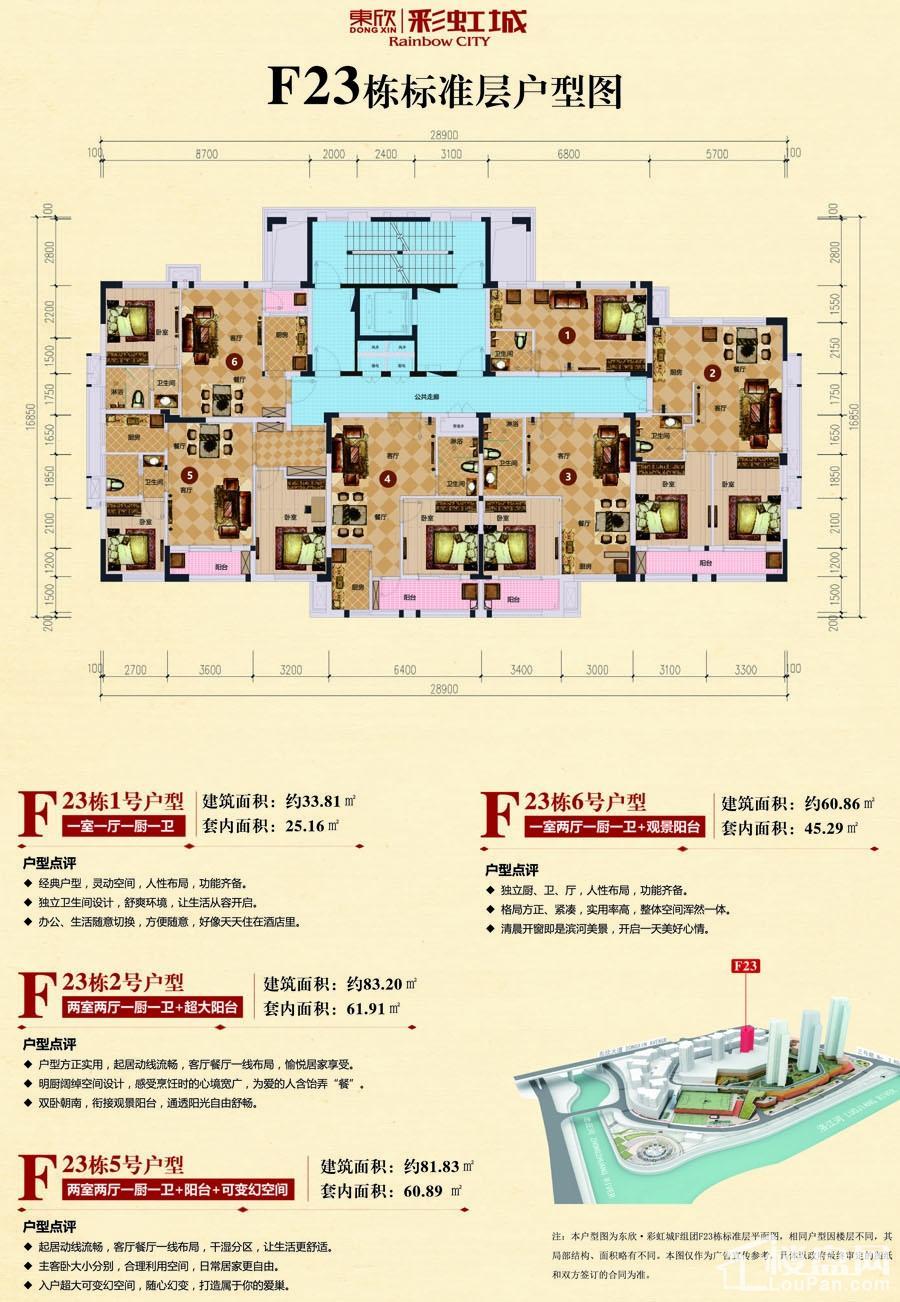 东欣·彩虹城 户型图