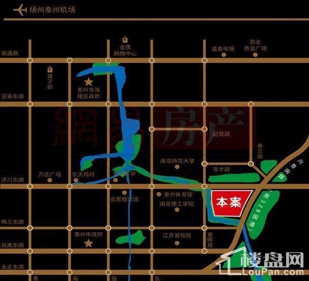 中铁溪源位置图