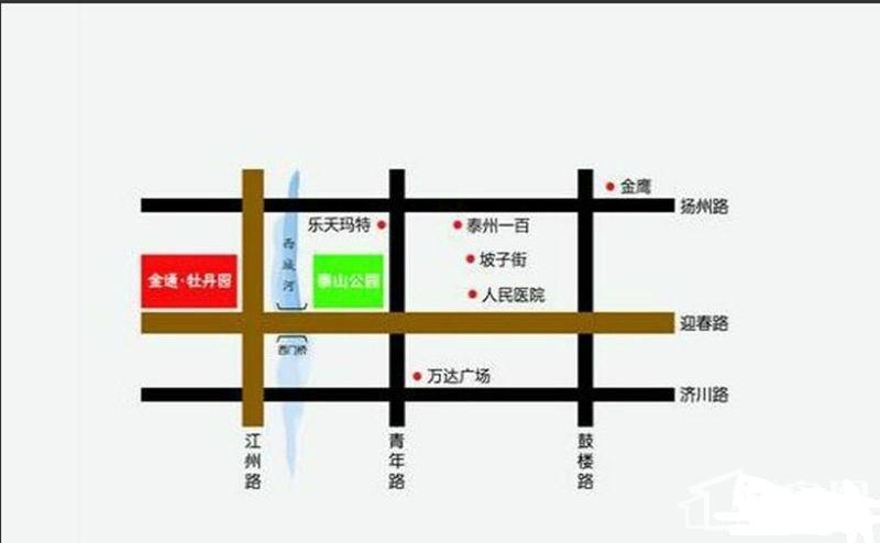 金通牡丹园位置图
