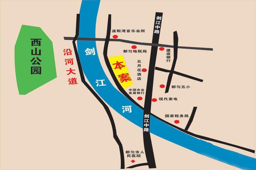 临江大厦位置图