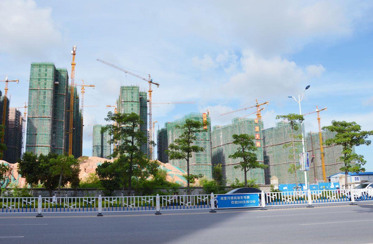 银投乾坤国际城实景图