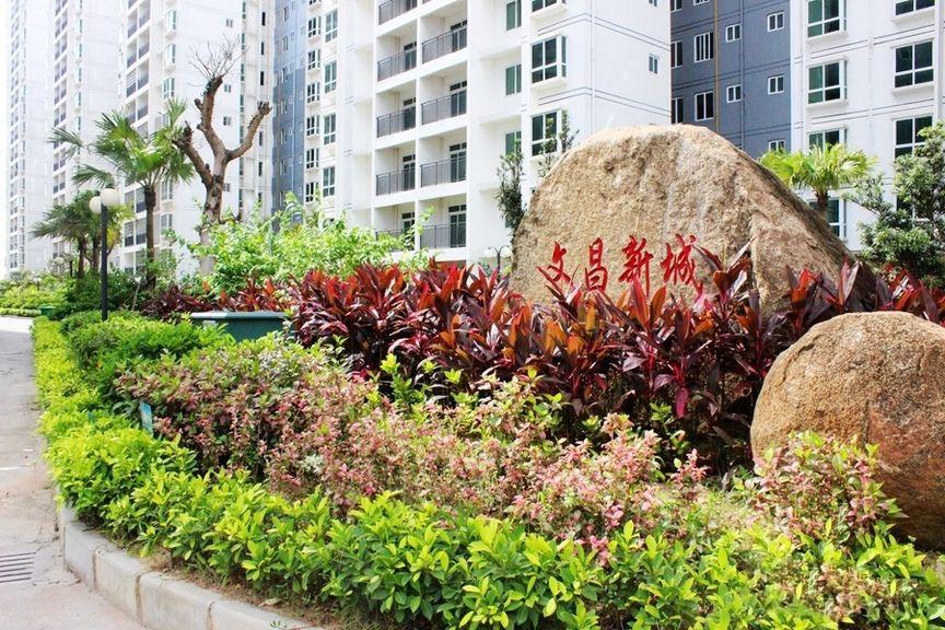 文昌新城实景图