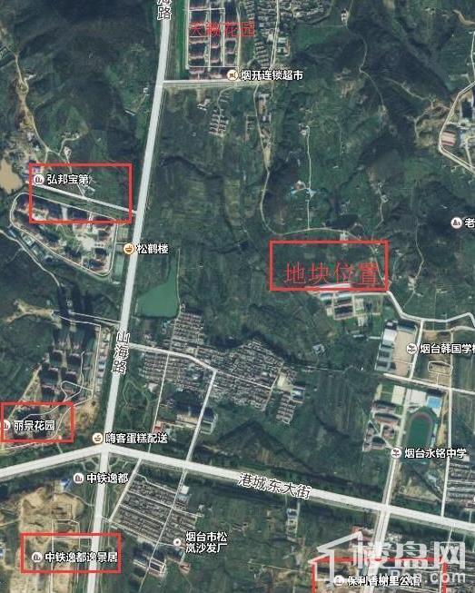 莱山远陵夼地块位置