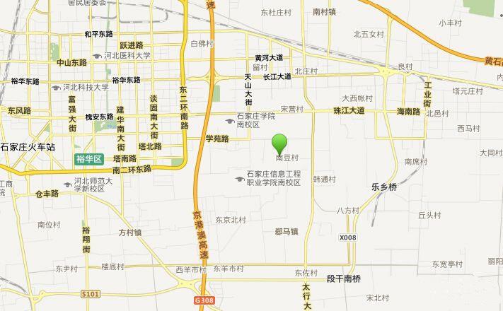 富力城项目区位图