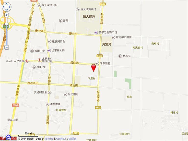 坤泽10里城位置图