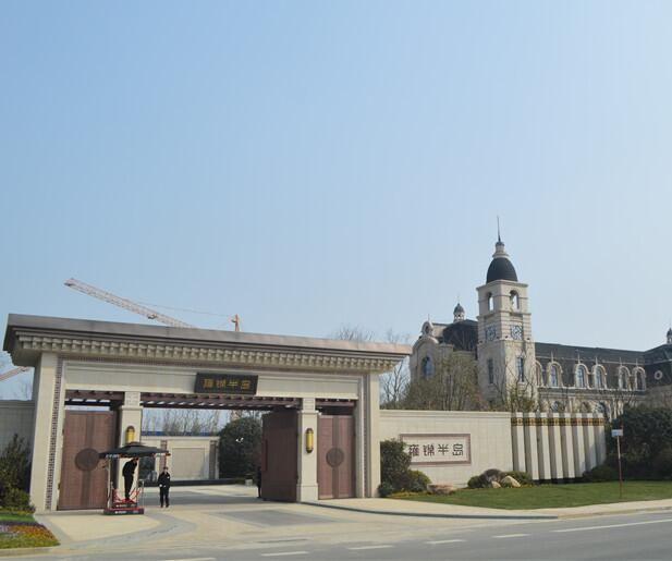 蓝光雍锦半岛实景图
