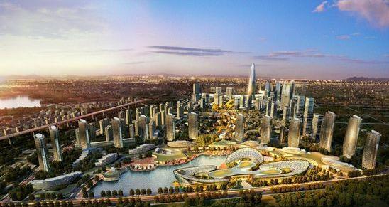绿地·中央文化城效果图