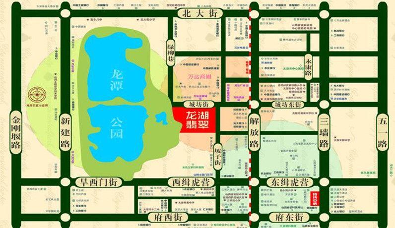 龙湖翡翠位置图