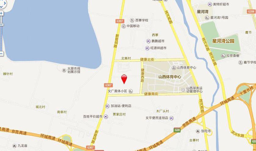 湖滨·文锦苑位置图