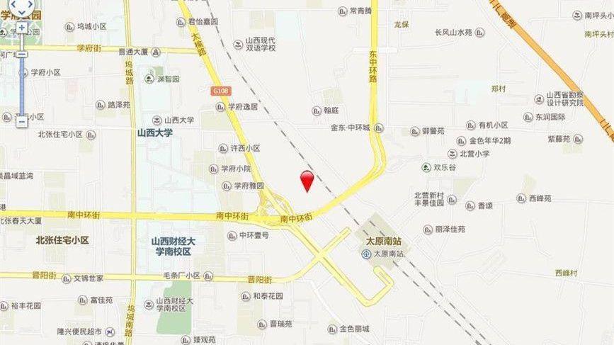 太原万科城位置图