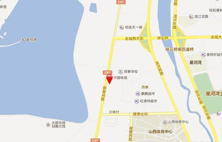 晋阳湖壹号位置图