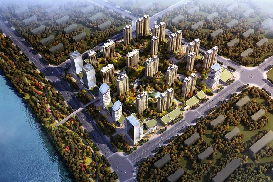 丰沃·悦湖城效果图