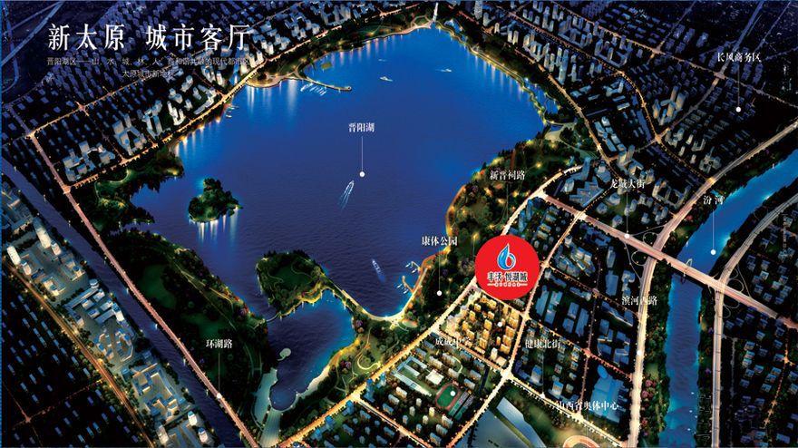 丰沃·悦湖城配套图