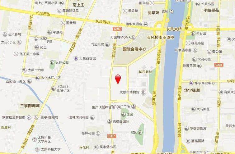 华润悦府位置图