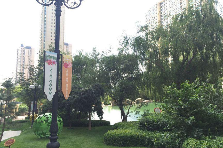 太原恒大山水城实景图