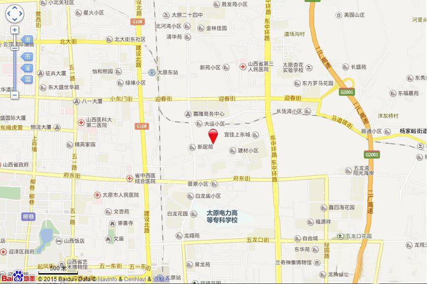 宜家上东城位置图