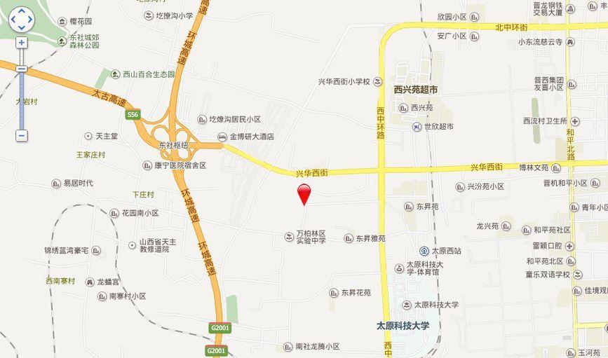 赞城YOHO TOWN位置图