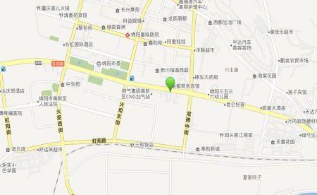 富临1886汽车生活馆商铺位置图