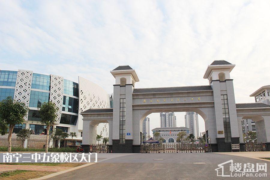 南宁三中五象校区(摄于2016.12.19)