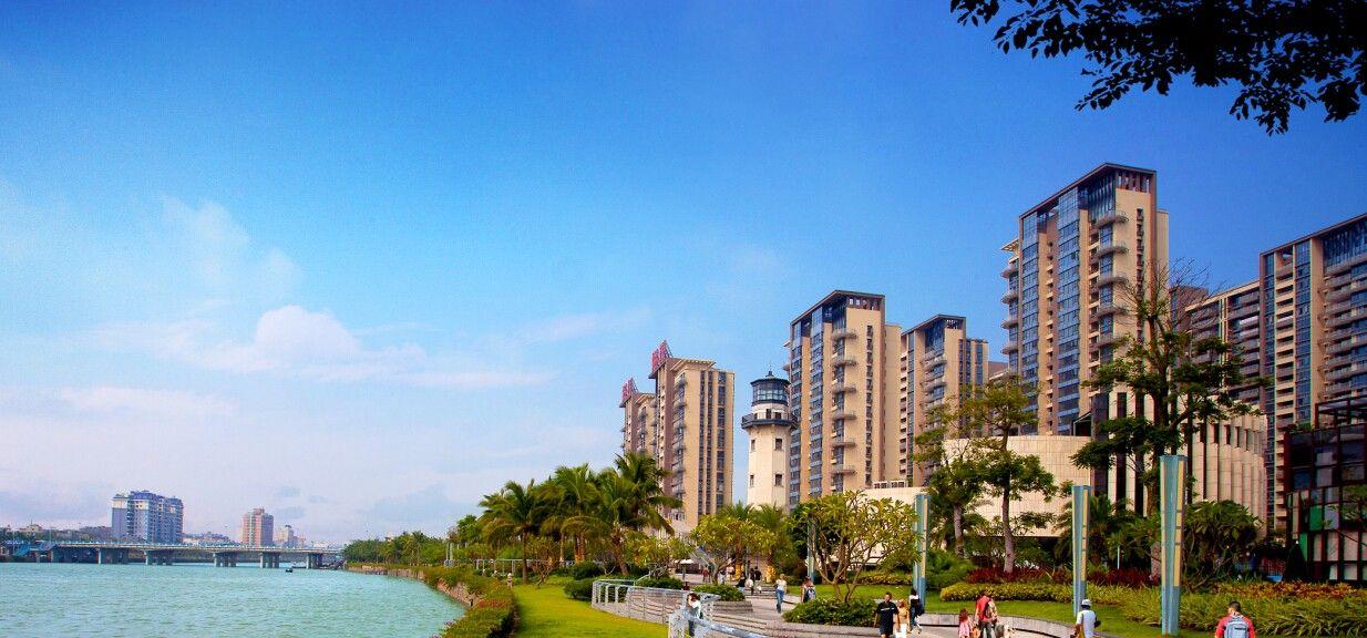 海口广物滨江海岸实景图