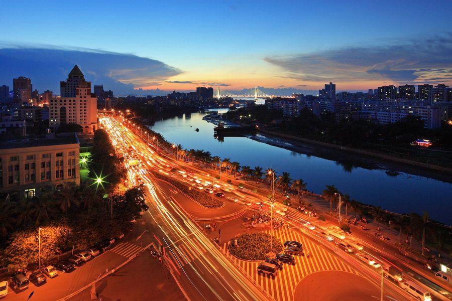 海口广物滨江海岸位置图