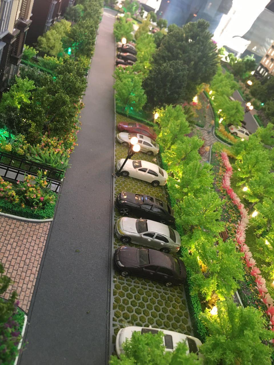 涿州公园一号户型图