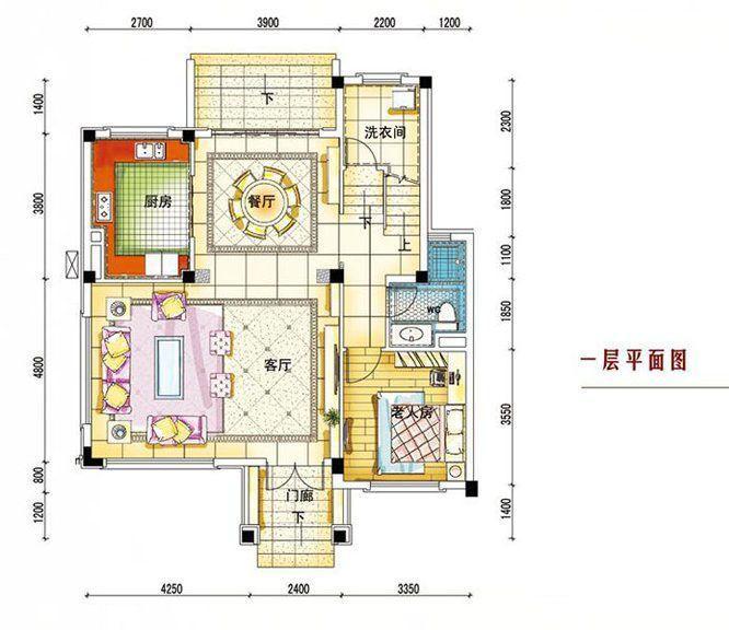 碧桂园南城首府 260平一层户型