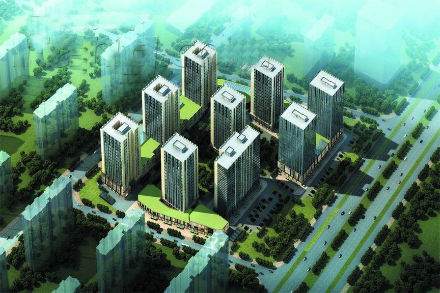 恒大未来城效果图