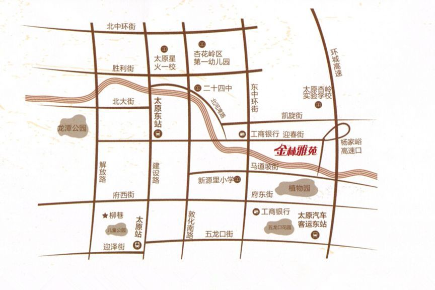 金林雅苑位置图