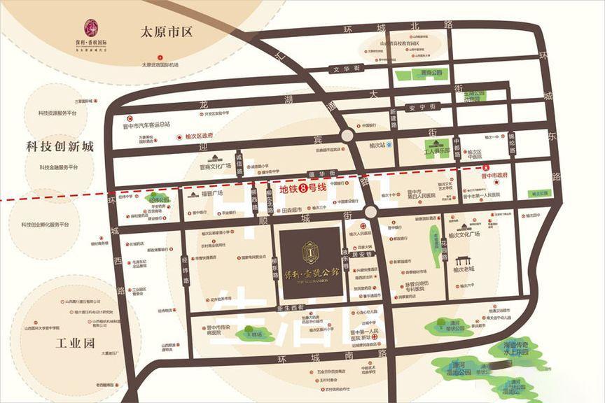 保利·壹号公馆位置图
