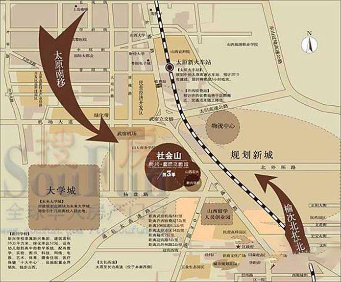 辰兴文教城五期位置图