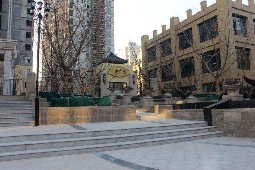 都市广场实景图