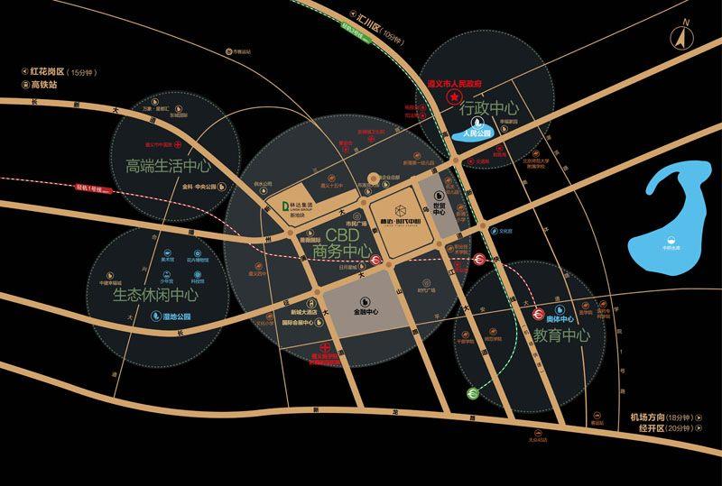 林达·时代中心位置图