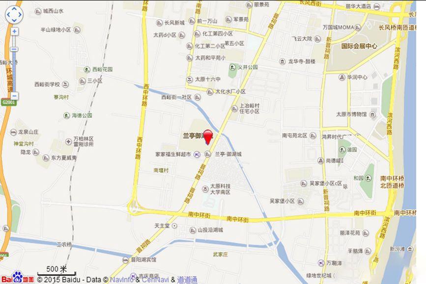 兰亭·御湖城5期位置图