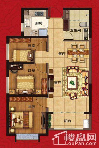兰亭·御湖城5期户型图