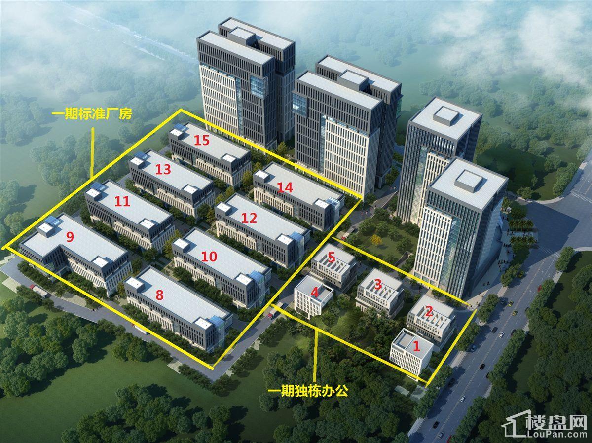 芙蓉中央产业园效果图