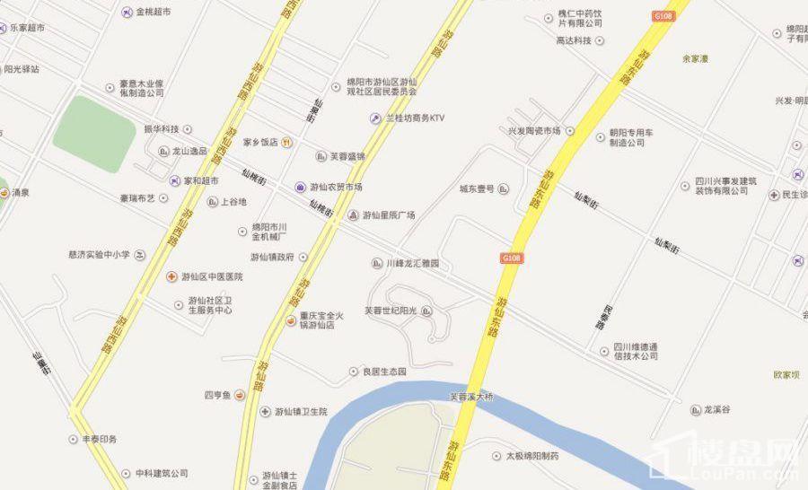 百乐汇广场位置图