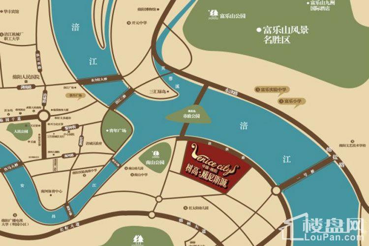 树高威尼斯商铺位置图