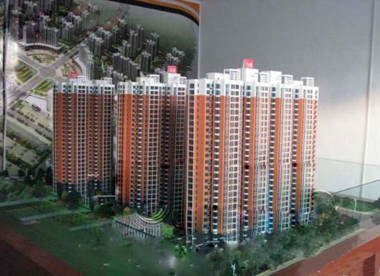 裕峰城市花园实景图