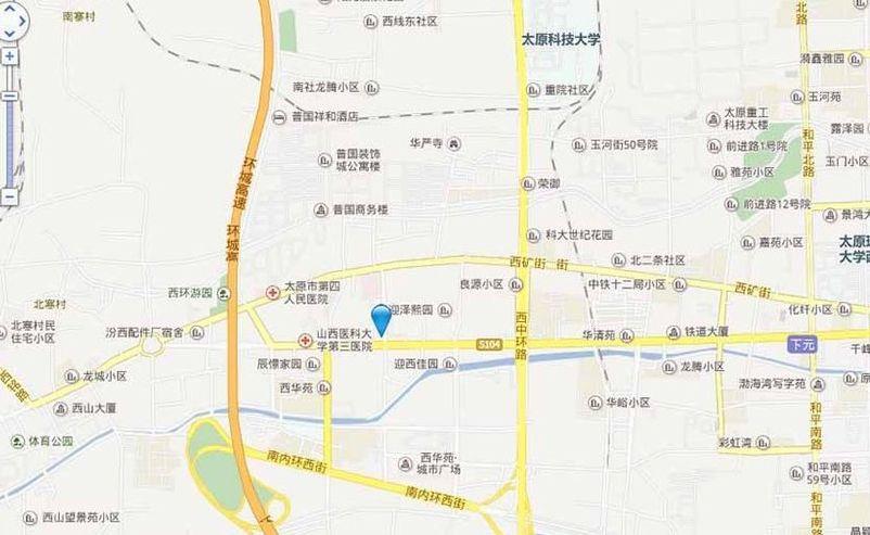 裕昌·蓝庭位置图