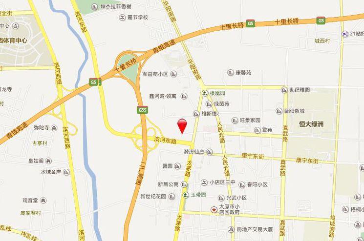 汾景壹号位置图
