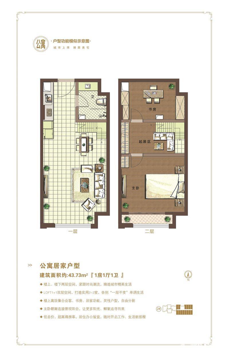 公寓居家型