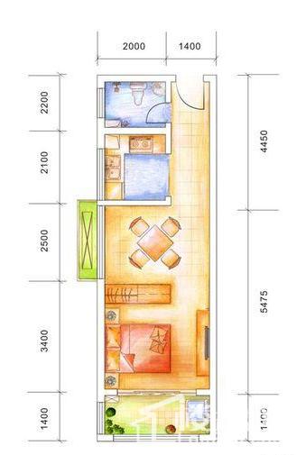 中发·四季花园户型图