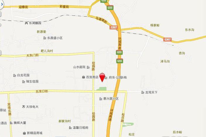 府东公园6栋位置图