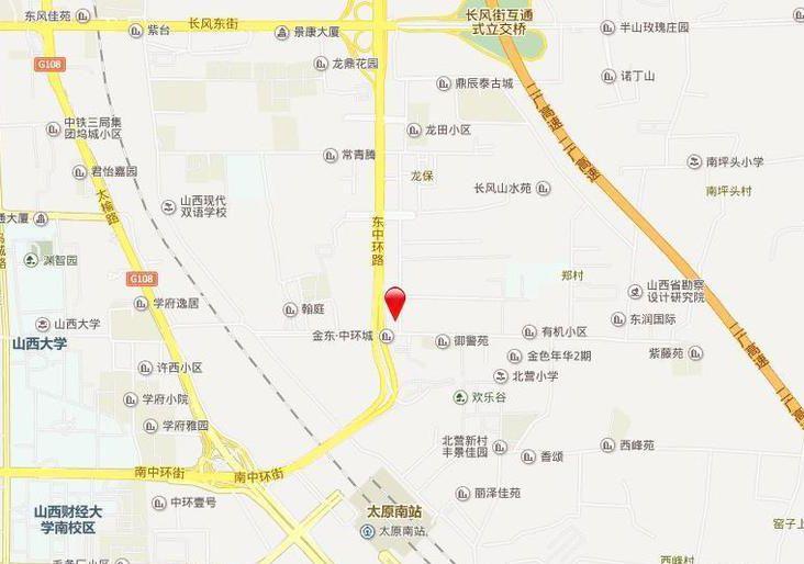 锦东·如意城位置图
