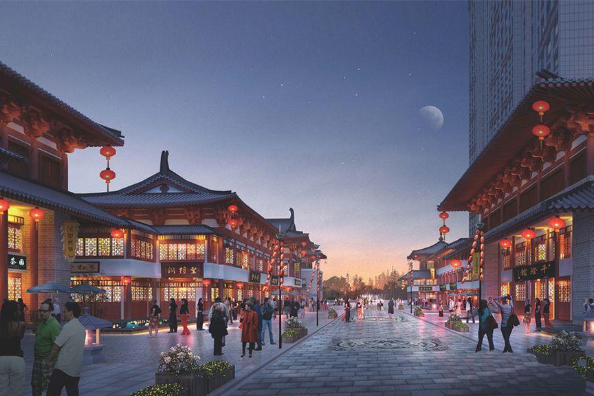锦东·如意城效果图